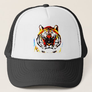 Wild Tiger Artwork Trucker Hat