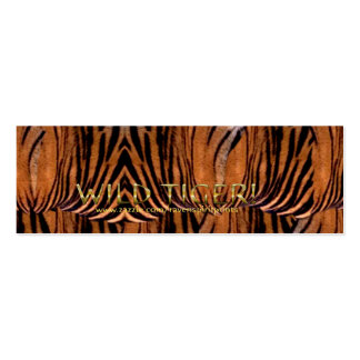 WILD TIGER Business or Profile Card Mini Business Card