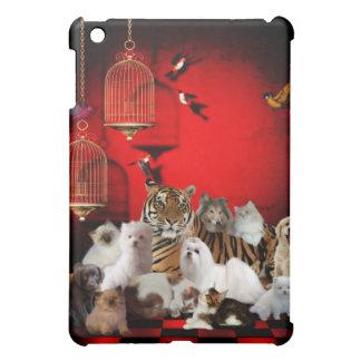 Wild Tiger Dogs Cats Animals 2 iPad Mini Cover