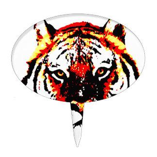 Wild Tiger Eyes Cake Topper