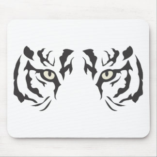 Wild Tiger Eyes Mouse Pad