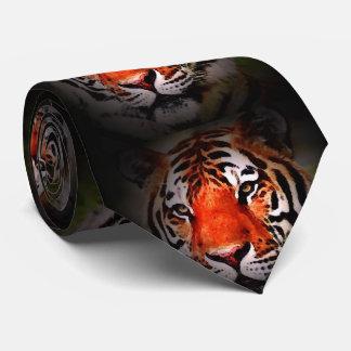 Wild Tiger Eyes Neck Tie