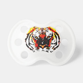 Wild Tiger Eyes Pacifier