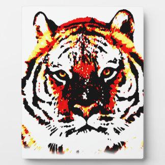 Wild Tiger Eyes Plaque