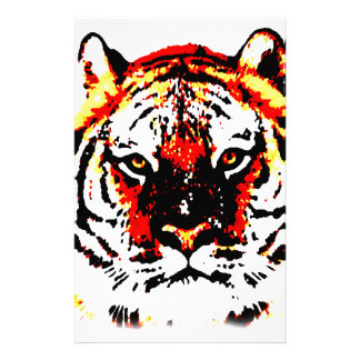 Wild Tiger Eyes Stationery