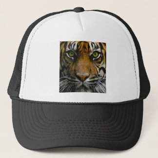 Wild Tiger Eyes Trucker Hat