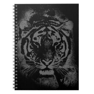 Wild Tiger Face Spiral Notebook