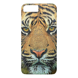 Wild Tiger Graphic Design iPhone 8 Plus/7 Plus Case