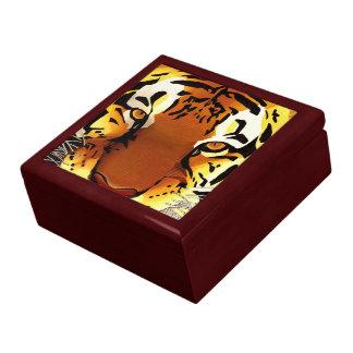 Wild Tiger Jewelry Box