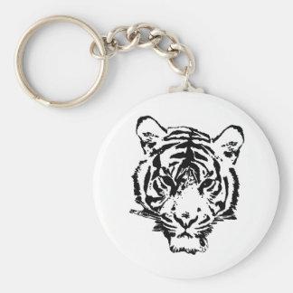 Wild Tiger Key Chains