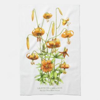 Wild Tiger Lilies Towel