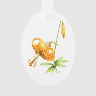 Wild Tiger Lily Ornament