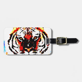 Wild Tiger Luggage Tag