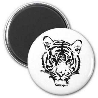Wild Tiger Magnet