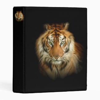 Wild Tiger Mini Binder