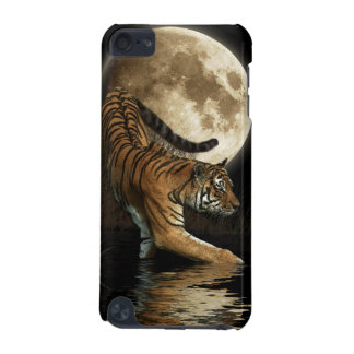 Wild Tiger & Moon Big Cat Wildlife Ipod Case iPod Touch 5G Cover