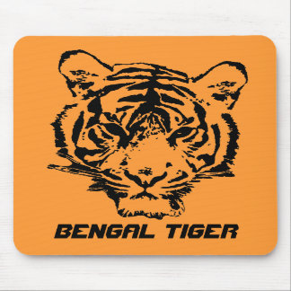 Wild Tiger Mouse Pad