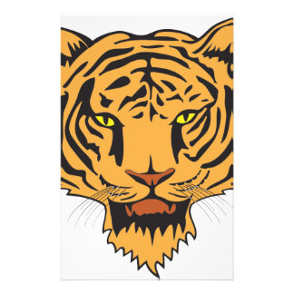 Wild Tiger peace and confidence Stationery