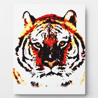 Wild Tiger Plaque