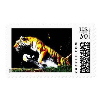 Wild Tiger Postage