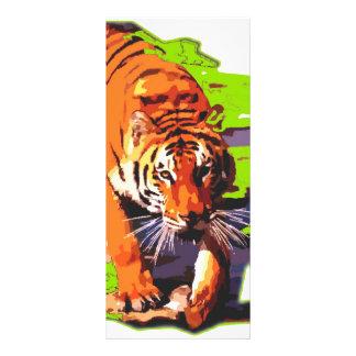 Wild Tiger Rack Card
