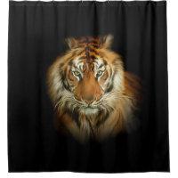Wild Tiger Shower Curtain