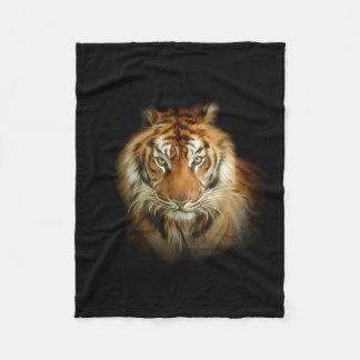Wild Tiger Small Fleece Blanket