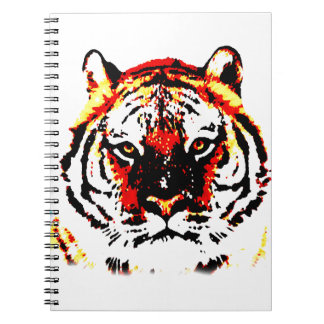 Wild Tiger Spiral Notebook
