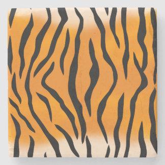 Wild Tiger Stripes Stone Coaster