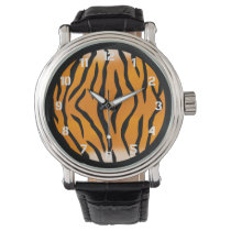 Wild Tiger Stripes Wrist Watch