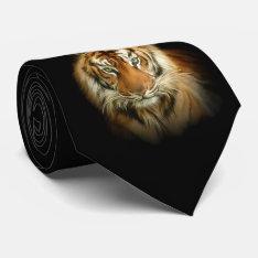 Wild Tiger Tie at Zazzle