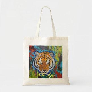 Wild Tiger Tote Bag