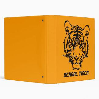 Wild Tiger Vinyl Binder