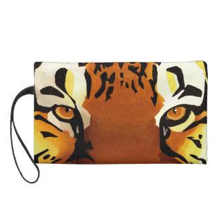 Wild Tiger Wristlet Purse