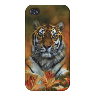 Wild Tigers Art Case for iPhone 4