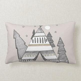 Wild Tipi Lumbar Pillow