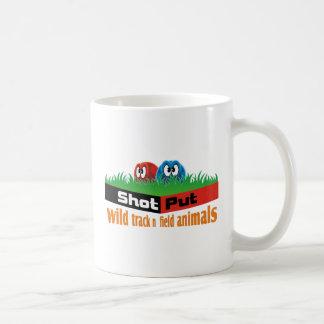 Wild track and field animals coffee mug