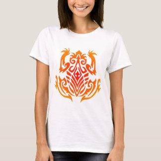 Wild Tribal Frog Tattoo T-Shirt