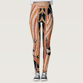 Wild Tribal Maori Leggings