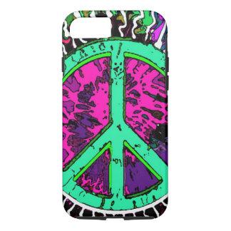 Wild Trippy Hippie Peace Sign iPhone 7 Case