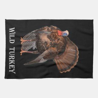 Wild Turkey (Alabama, Massachusetts, Oklahoma) Hand Towel