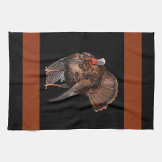 Wild Turkey (Alabama, Massachusetts, Oklahoma) Kitchen Towel