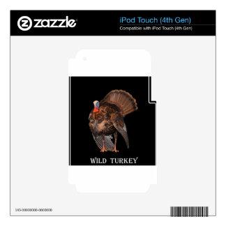 Wild Turkey (Alabama, Massachusetts, Oklahoma) iPod Touch 4G Skins