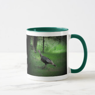 Wild Turkey and Coffee Mug