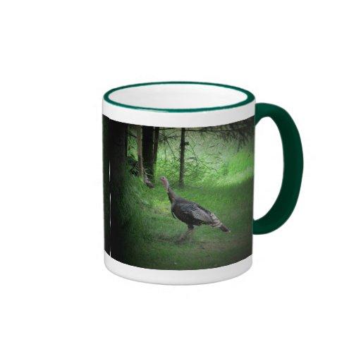 Wild Turkey and Coffee Ringer Coffee Mug