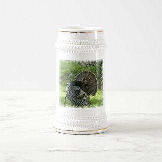 Wild Turkey Beer Stein Coffee Mug