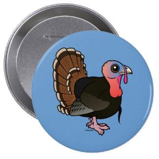 Wild Turkey Button