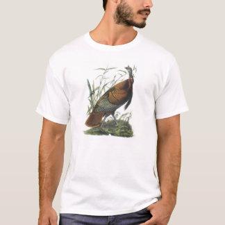 Wild Turkey by Audubon T-Shirt