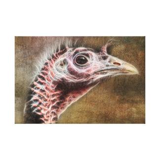 Wild Turkey Canvas Art Canvas Print