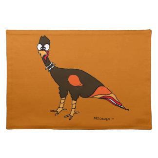 Wild Turkey Cloth Placemat